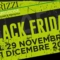 BLACK FRIDAY 29/11/2019